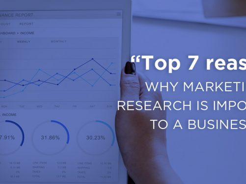 The top 7 reasons why marketing research is important to a business