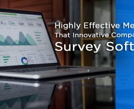Innovative Companies Use Survey Software