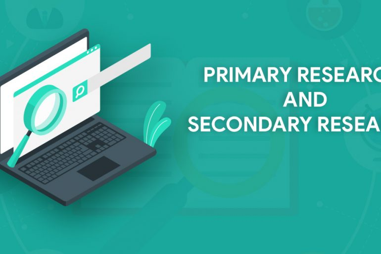 difference between primary research and secondary research